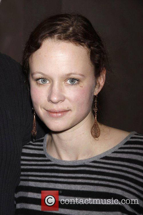 Thora Birch  A break during rehearsal for...