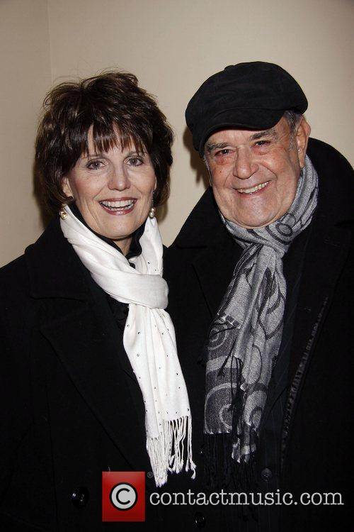 Lucie Arnaz and Laurence Luckinbill Opening night of...