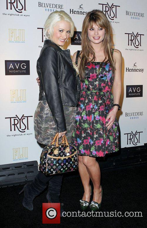 Holly Madison and Laura Croft Drake After Party...