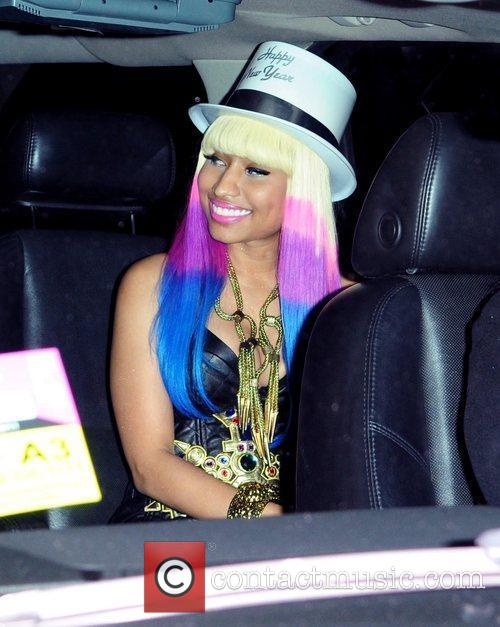 Nicki Minaj New Years Eve Party. Nicki Minajhost All Pink