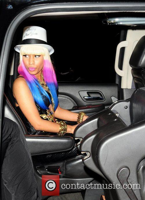 Leaves Mansion nightclub after celebrating her 'All Pink...