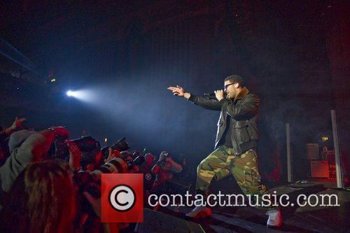 Drake performs at the HMV Apollo