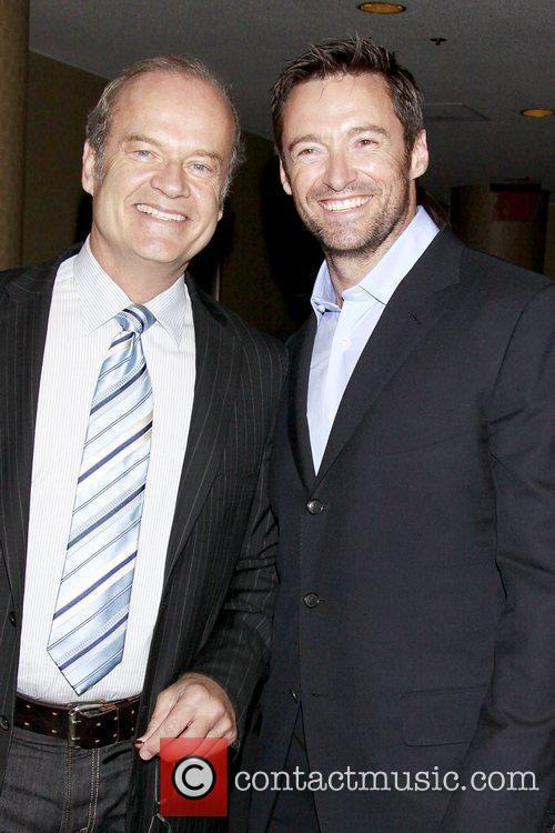 Kelsey Grammer and Hugh Jackman 2