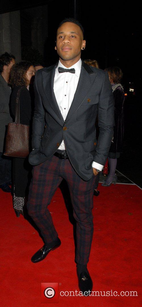 Reggie Yates Drapers Awards 2010 at Grosvenor House...