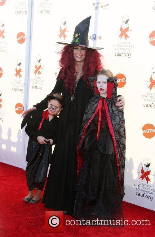 Melora Hardin and her children 17th Annual Dream...