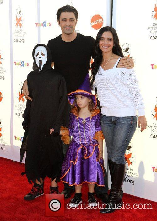 Gilies Marini, wife Carole and their kids George...