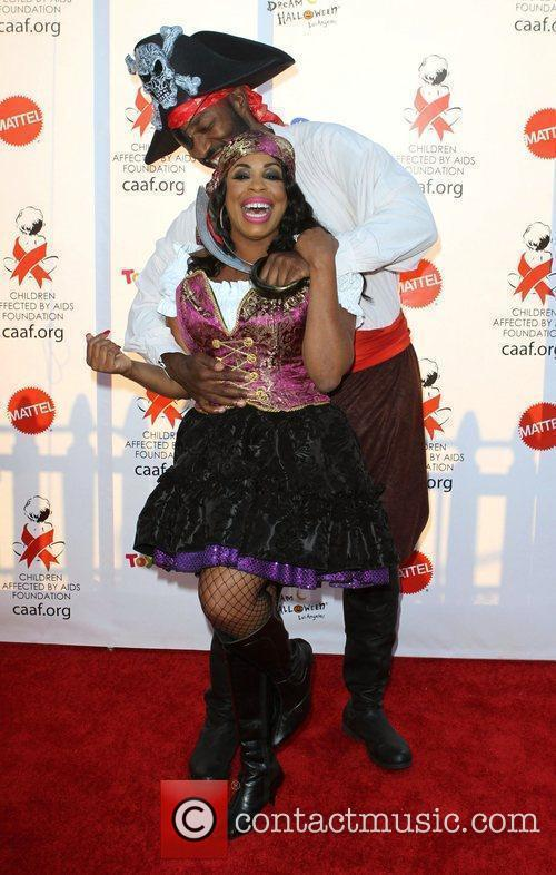 Niecy Nash and Guest 17th Annual Dream Halloween...