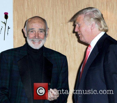 Sean Connery and Donald Trump 1