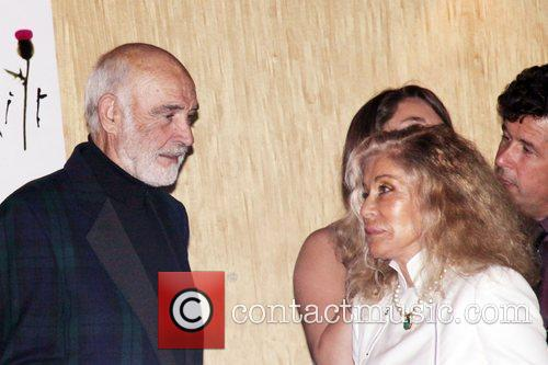 Sean Connery and His Wife Micheline Roquebrune 2