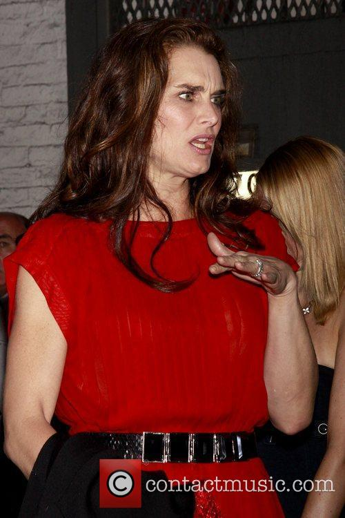Brooke Shields Opening night of the Broadway production...