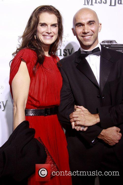 Brooke Shields and Shawn Emamjomeh Opening night of...