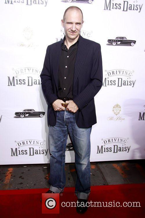 Ralph Fiennes Opening night of the Broadway production...