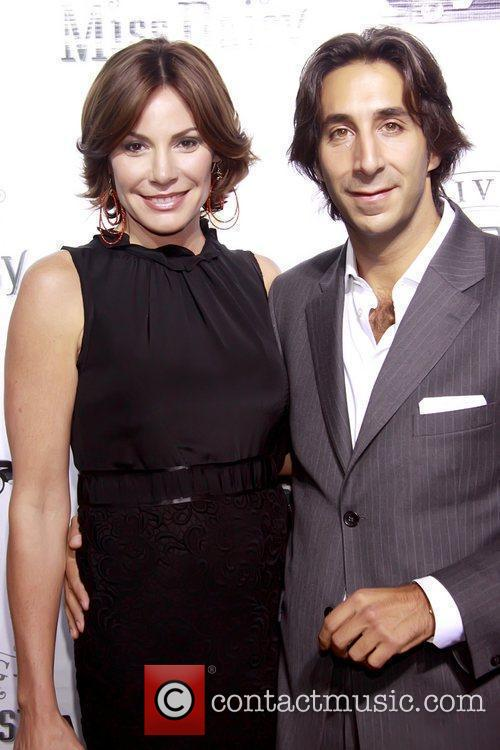 Countess LuAnn de Lesseps and Jacques Azoulay Opening...