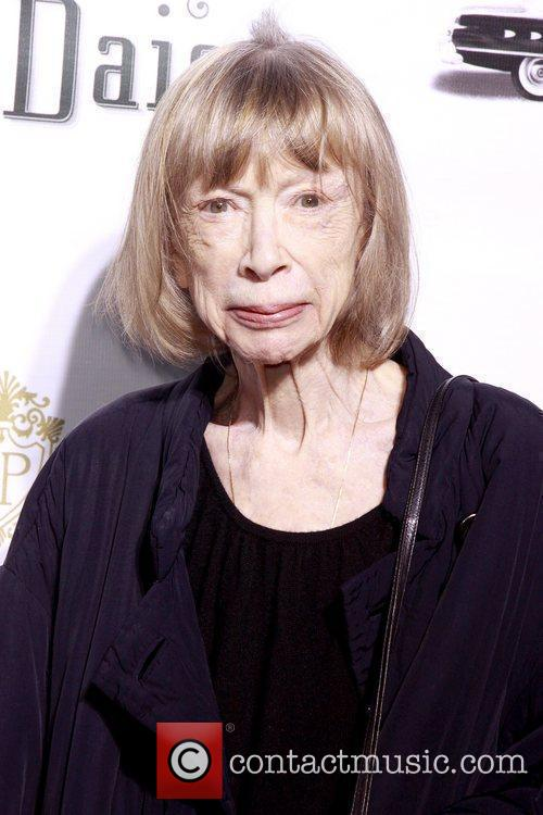 Joan Didion Opening night of the Broadway production...