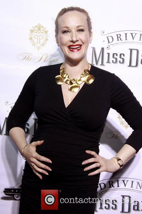 Katie Finneran Opening night of the Broadway production...