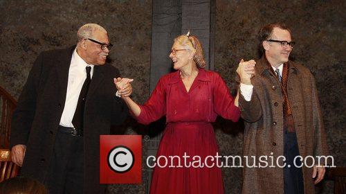 James Earl Jones, Vanessa Redgrave and Boyd Gaines...