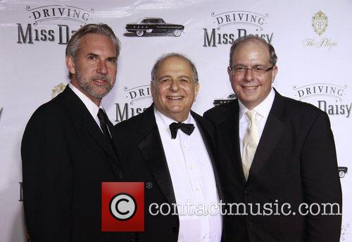 David Esbjornson, Alfred Uhry and Jed Bernstein Opening...