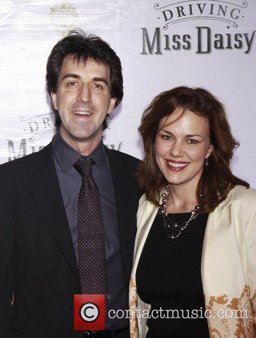 Jason Robert Brown and his wife Georgia Stitt...