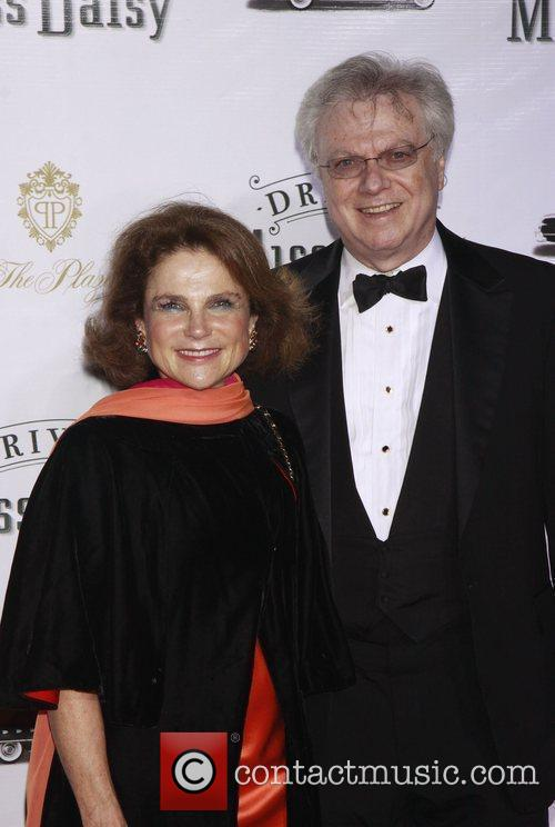 Tovah Feldshuh and her husband Andrew Harris-Levy Opening...