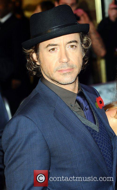 Robert Downey Jr and Sophia Wardman 5