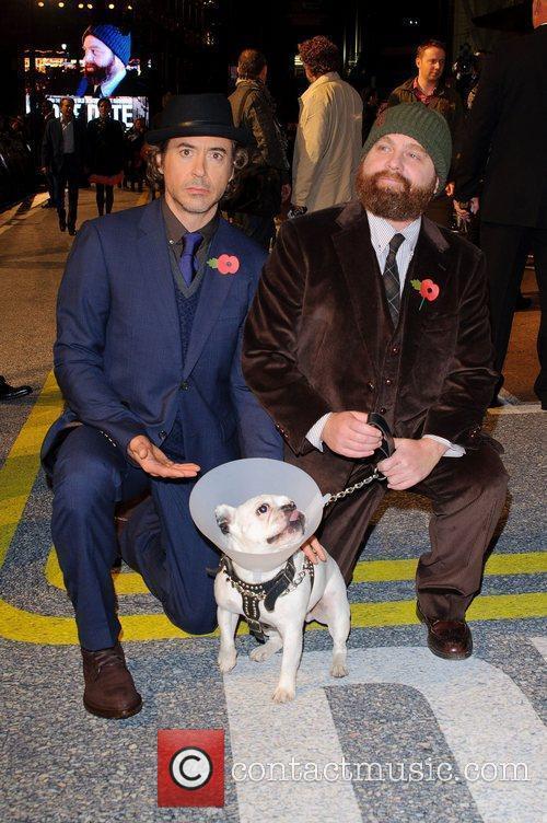 Robert Downey Jr and Zach Galifianakis 1