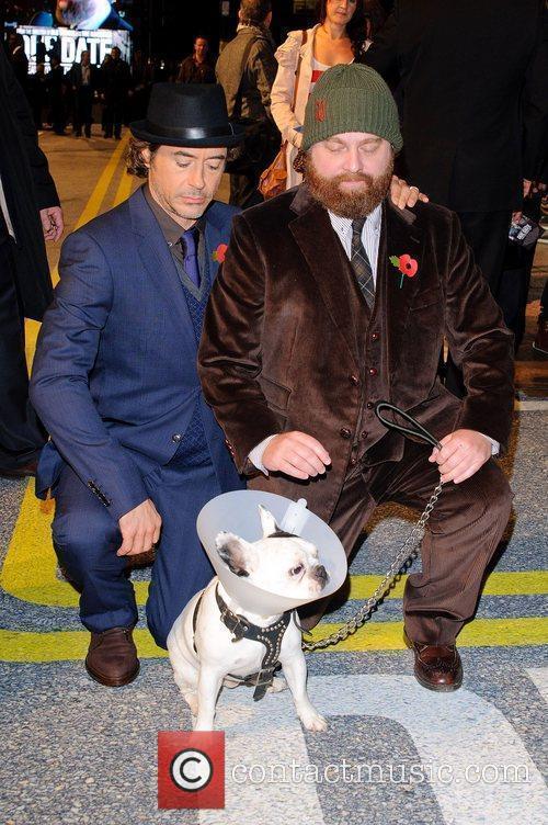 Robert Downey Jr and Zach Galifianakis 2