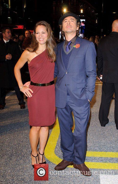 Robert Downey Jr, Sophia Wardman, Empire Leicester Square
