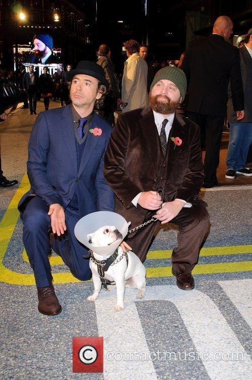 Robert Downey Jr and Zach Galifianakis 3