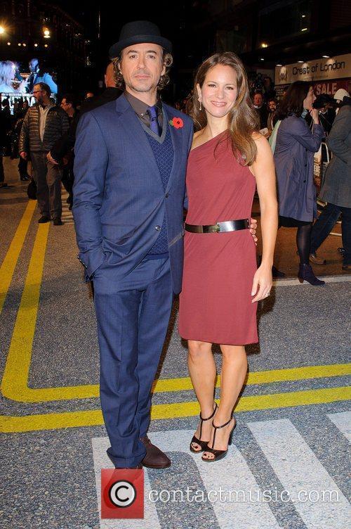 Robert Downey Jr and Sophia Wardman 1