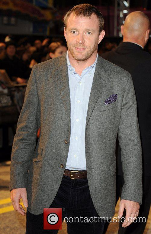 Guy Ritchie UK film premiere of 'Due Date'...