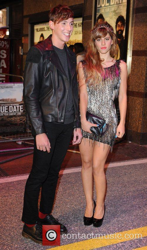 Nicolo and Guest UK film premiere of 'Due...