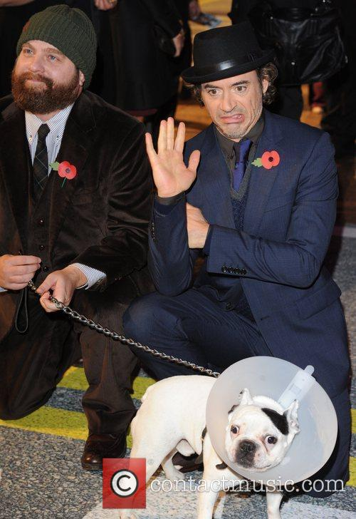 Robert Downey Jr, Zach Galifianakis, Empire Leicester Square