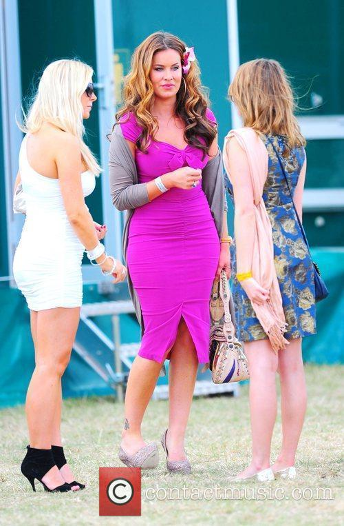 Jo-Emma Larvin attends the Duke of Essex Polo...