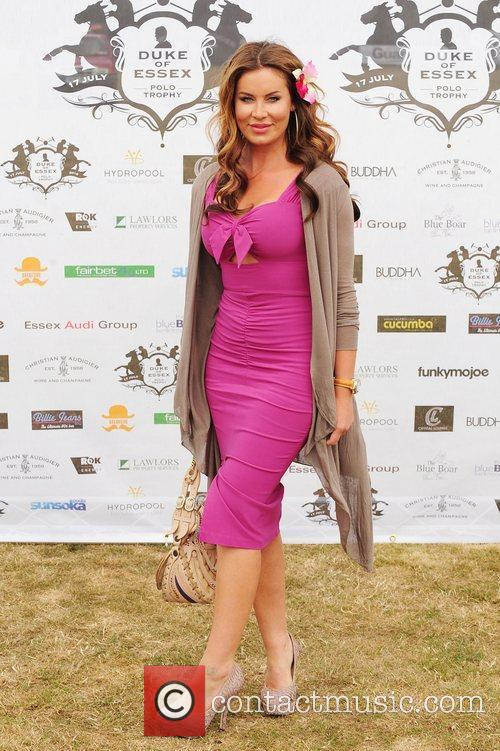 Jo-Emma Larvin Duke Of Essex Polo Trophy at...