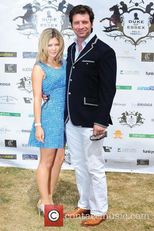 Nick Knowles Duke Of Essex Polo Trophy at...
