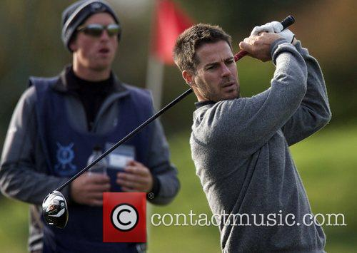 Jamie Redknapp Practise Round of the Alfred Dunhill...