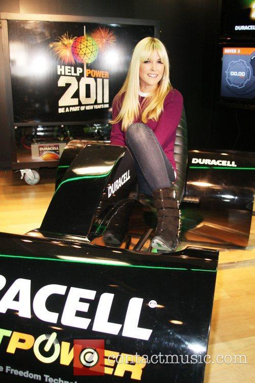 Fashion VIPS visit the Duracell mobile smart power...