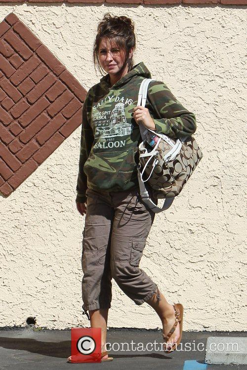 Bristol Palin leaving 'Dancing With the Stars' rehearsals...