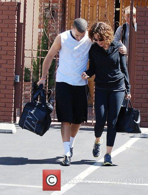 Jennifer Grey, Dancing With The Stars and Mark Ballas 2