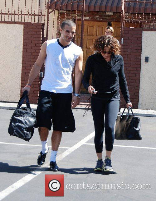 Jennifer Grey, Dancing With The Stars and Mark Ballas 1