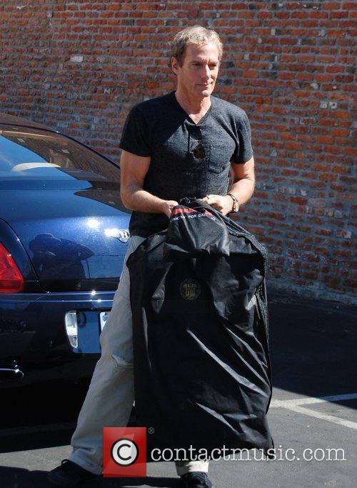 Michael Bolton arrives at the rehearsal studio for...