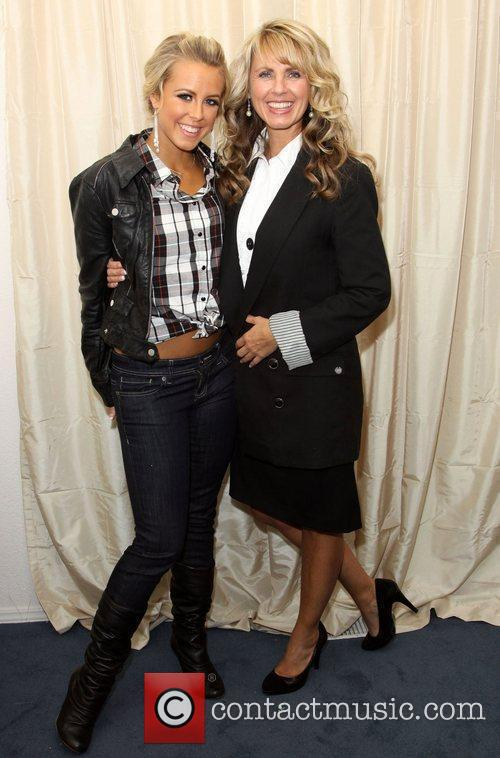 Chelsie Hightower and her Mother Laurie Hightower Gifting...