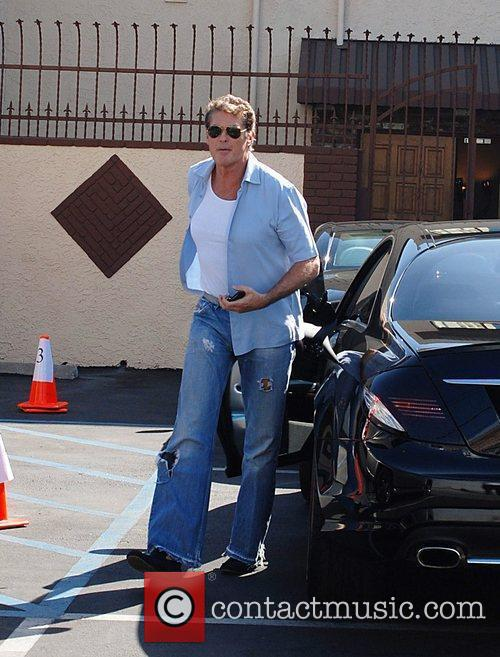 David Hasselhoff Celebrities outside the 'Dancing With The...