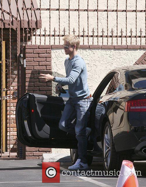 Derek Hough Celebrities outside the 'Dancing With The...