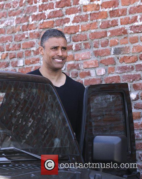 Rick Fox Celebrities outside the 'Dancing With The...