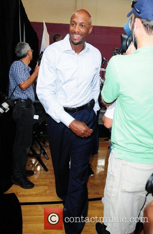 Alonzo Mourning Summer Groove media day at the...