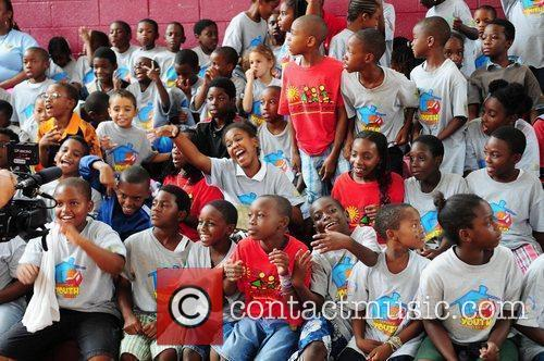 Summer Groove media day at the Overtown Youth...