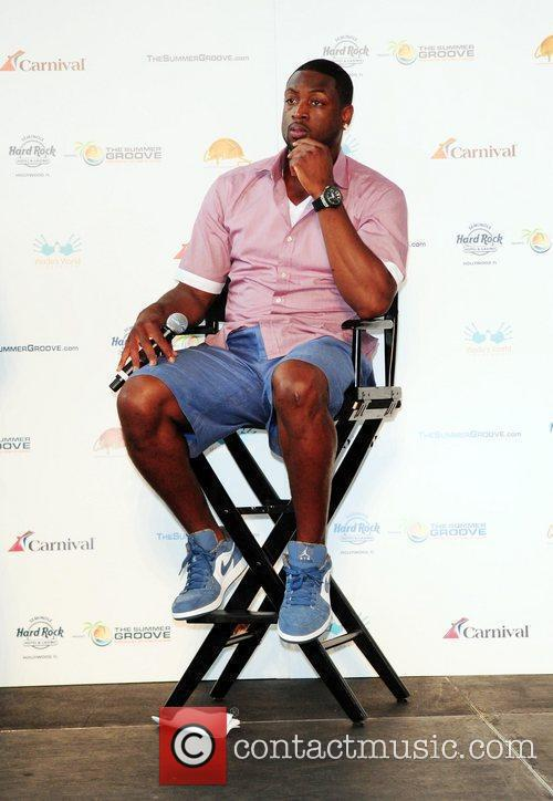Dwyane Wade  Summer Groove media day at...