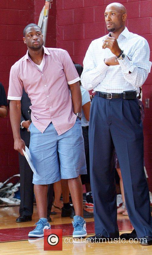 Dwyane Wade and Alonzo Mourning Summer Groove media...