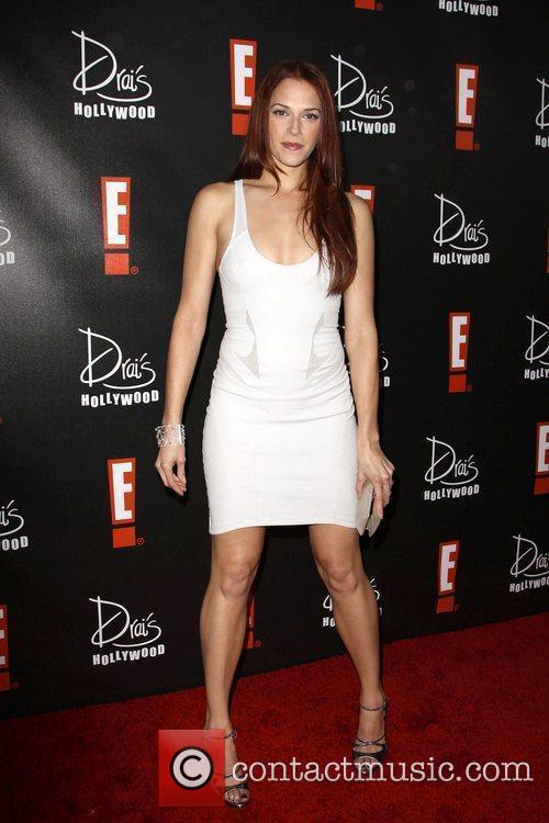 Amanda Righetti E! Oscar Viewing and After Party...